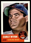 1991 Topps 1953 Archives #61  Early Wynn  Front Thumbnail