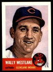 1953 Topps Archives #192  Wally Westlake  Front Thumbnail