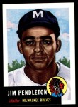 1953 Topps Archives #185  Jim Pendleton  Front Thumbnail