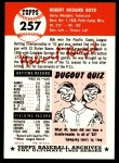 1991 Topps 1953 Archives #257  Bob Boyd  Back Thumbnail