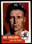 1991 Topps 1953 Archives #9  Joe Collins  Front Thumbnail