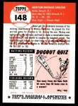 1991 Topps 1953 Archives #148  Mickey Grasso  Back Thumbnail