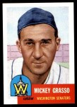 1991 Topps 1953 Archives #148  Mickey Grasso  Front Thumbnail