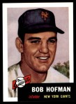 1953 Topps Archives #182  Bobby Hofman  Front Thumbnail