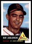1991 Topps 1953 Archives #189  Ray Jablonski  Front Thumbnail