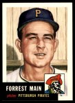 1953 Topps Archives #198  Forrest Main  Front Thumbnail
