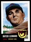 1953 Topps Archives #155  Dutch Leonard  Front Thumbnail