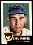 1953 Topps Archives #92  Paul Minner  Front Thumbnail