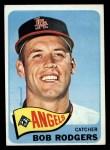 1965 Topps #342  Bob Rodgers  Front Thumbnail