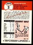 1991 Topps 1953 Archives #2  Luke Easter  Back Thumbnail