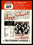 1953 Topps Archives #169  Dizzy Trout  Back Thumbnail