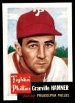 1953 Topps Archives #146  Granny Hamner  Front Thumbnail