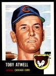 1991 Topps 1953 Archives #23  Toby Atwell  Front Thumbnail