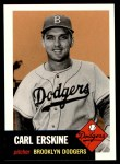 1991 Topps 1953 Archives #308  Carl Erskine  Front Thumbnail