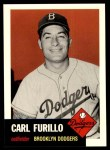 1991 Topps 1953 Archives #305  Carl Furillo  Front Thumbnail