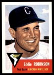 1991 Topps 1953 Archives #73  Eddie Robinson  Front Thumbnail