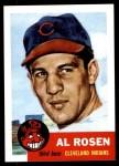 1991 Topps 1953 Archives #135  Al Rosen  Front Thumbnail