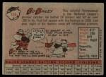 1958 Topps #330  Ed Bailey  Back Thumbnail