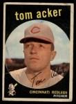 1959 Topps #201  Tom Acker  Front Thumbnail