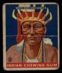 1933 Goudey Indian Gum #207   White Deer Skin  Front Thumbnail