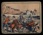 1939 Gum Inc. War News Pictures #91   U-Boat Lands Shipwrecked Crew In Ireland Front Thumbnail