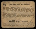 1939 Gum Inc. War News Pictures #99   Ghost Plane Lands With The Goods Back Thumbnail