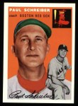 1954 Topps Archives #217  Paul Schreiber  Front Thumbnail