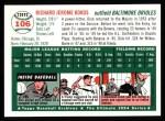 1954 Topps Archives #106  Dick Kokos  Back Thumbnail
