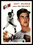 1994 Topps 1954 Archives #36  Hoyt Wilhelm  Front Thumbnail