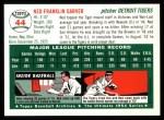 1994 Topps 1954 Archives #44  Ned Garver  Back Thumbnail