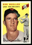 1994 Topps 1954 Archives #42  Don Mueller  Front Thumbnail