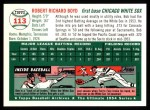 1994 Topps 1954 Archives #113  Bob Boyd  Back Thumbnail