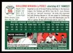 1994 Topps 1954 Archives #56  Willie Miranda  Back Thumbnail