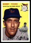 1994 Topps 1954 Archives #8  Bobby Young  Front Thumbnail