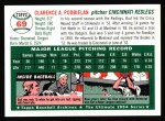 1994 Topps 1954 Archives #69  Bud Podbielan  Back Thumbnail