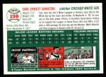 1954 Topps Archives #198  Carl Sawatski  Back Thumbnail