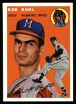 1954 Topps Archives #210  Bob Buhl  Front Thumbnail