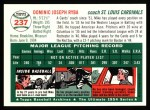 1954 Topps Archives #237  Mike Ryba  Back Thumbnail