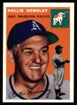 1954 Topps Archives #143  Rollie Hemsley  Front Thumbnail