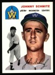 1994 Topps 1954 Archives #33  Johnny Schmitz  Front Thumbnail