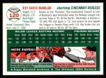 1994 Topps 1954 Archives #120  Roy McMillan  Back Thumbnail
