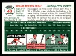 1994 Topps 1954 Archives #43  Dick Groat  Back Thumbnail