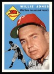 1994 Topps 1954 Archives #41  Willie Jones  Front Thumbnail