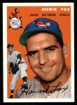 1954 Topps Archives #246  Howie Fox  Front Thumbnail