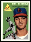 1954 Topps Archives #191  Dick Schofield  Front Thumbnail