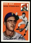 1994 Topps 1954 Archives #84  Dick Cole  Front Thumbnail