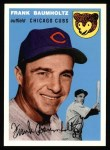1994 Topps 1954 Archives #60  Frank Baumholtz  Front Thumbnail