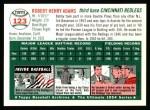 1994 Topps 1954 Archives #123  Bobby Adams  Back Thumbnail