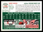 1954 Topps Archives #110  Harry Dorish  Back Thumbnail