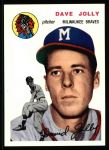 1954 Topps Archives #188  Dave Jolly  Front Thumbnail
